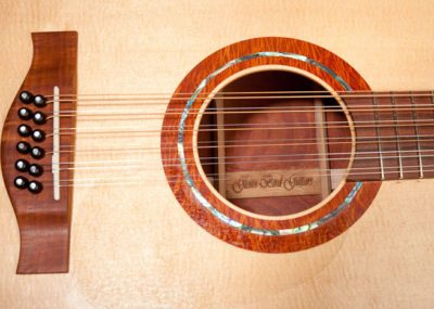 Get top-quality sound with a unique, handmade guitar crafted by an artisan guitar luthier like Glenn Bird