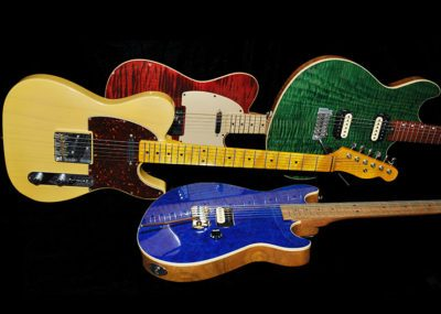 Handmade electric guitars - GR3 and Tele models