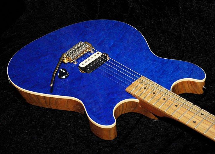custom hand made electric guitars. Black Bedroom Furniture Sets. Home Design Ideas