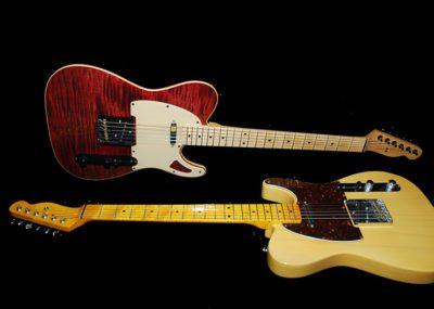 Tele vintage style handmade guitars
